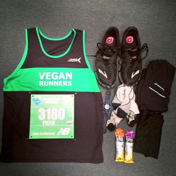 vegan runners maraton rzym bieganie