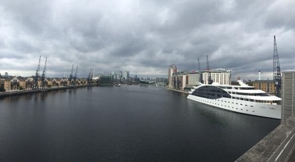 bieganie Londyn royal docks