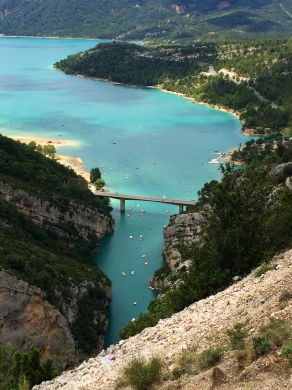 bieganie prowansja francja wakacje kanion Verdon