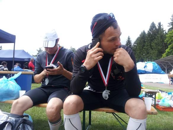 Sudecka setka meta ultramaraton zmeczenie
