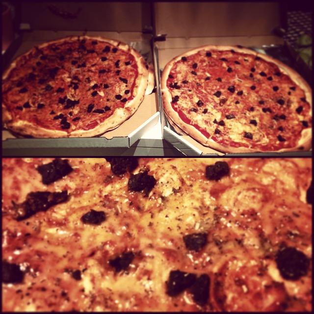 pizza wegańska