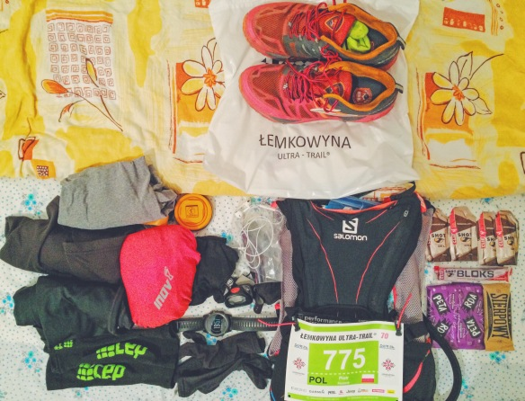 Łemkowyna Ultra Trail race kit