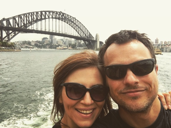 sydney polish vegan honeymoon harbour bridge