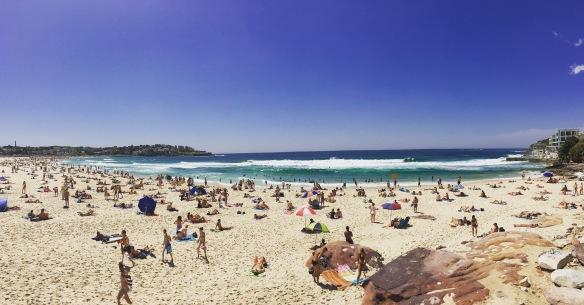 Bondi beach Sydney Nowa Południowa Walia