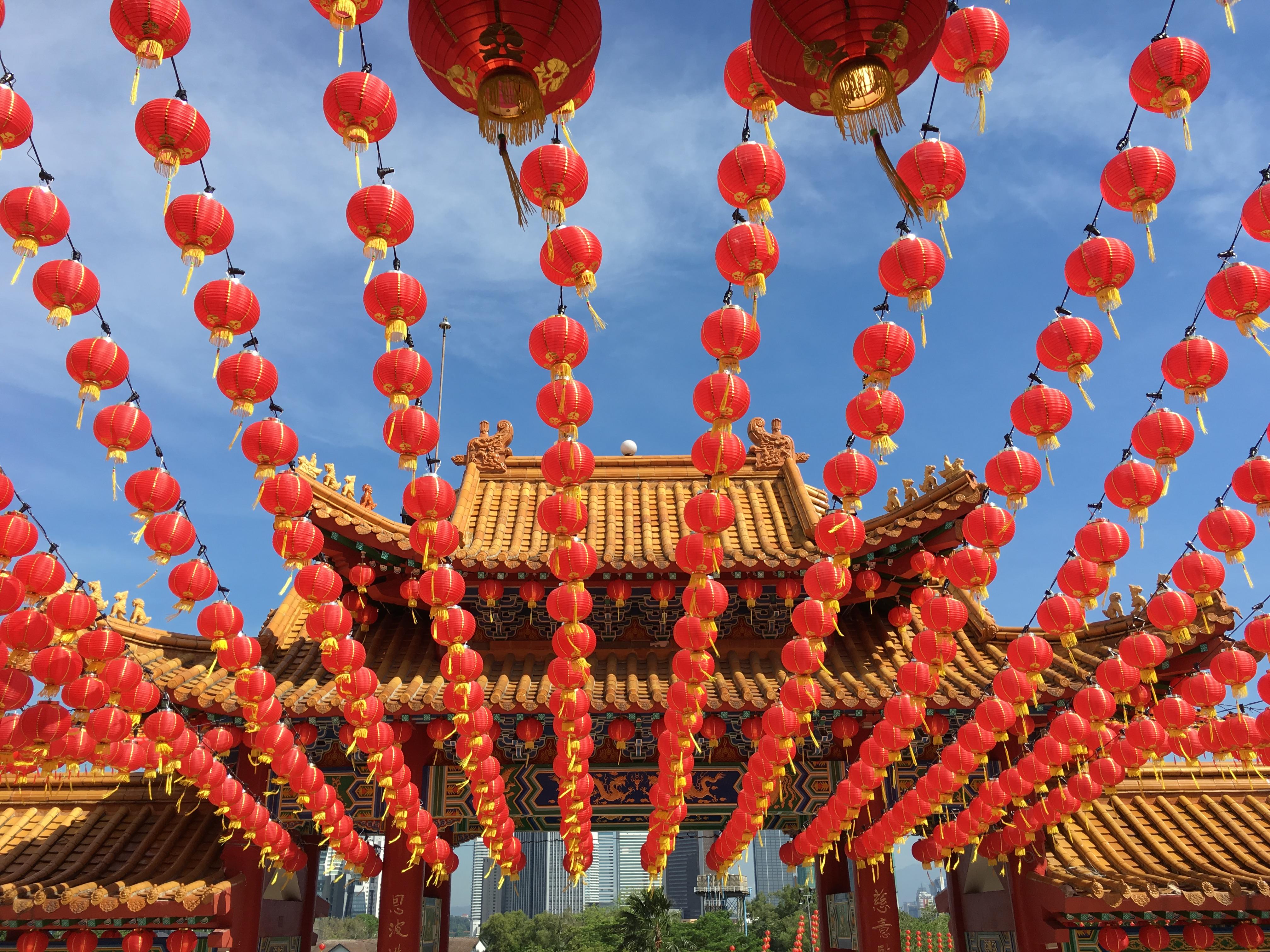 Kuala Lumpur Swiatynia Buddyzm