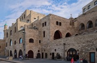 Jaffa meczet i kosciol