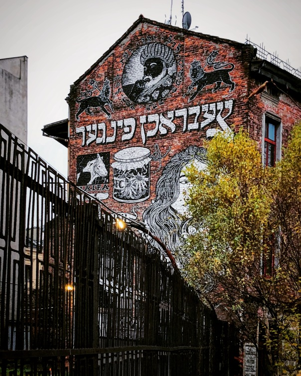 kazimierz krakow grafitti zydowskie