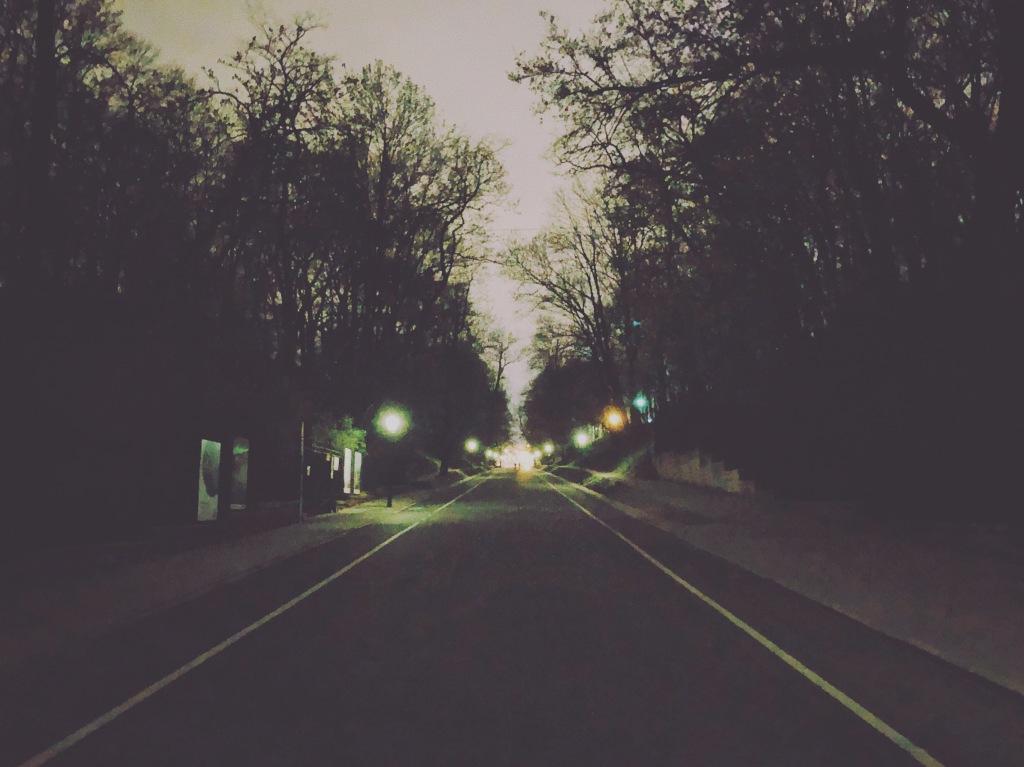 nocne podbiegi na Agrykoli